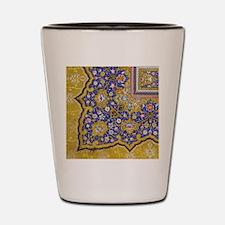 Arabian Floral Pattern Shot Glass