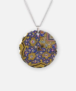Arabian Floral Pattern Necklace