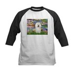Lilies (#2) & Bolognese Kids Baseball Jersey
