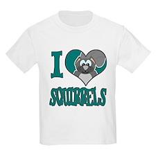 I Love (Heart) Squirrels T-Shirt