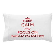 Cute Baked potato Pillow Case