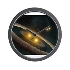 Funny Astronomer Wall Clock