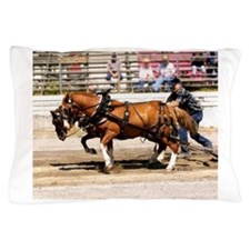 Welsh Cob Ponies Pillow Case