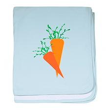 Carrots baby blanket