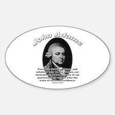 John Adams 01 Oval Decal