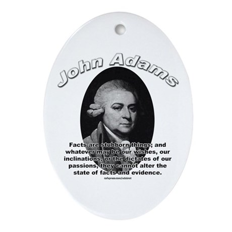 John Adams 01 Oval Ornament