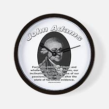 John Adams 01 Wall Clock