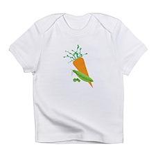 Green Peas Carrot Infant T-Shirt