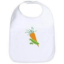 Green Peas Carrot Bib