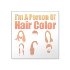 Person Of Hair Color Sticker