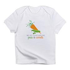 We Go Together Like Peas & Carrots Infant T-Shirt