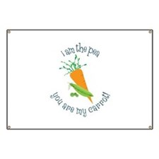 I Am The Pea You Are My Carrot! Banner