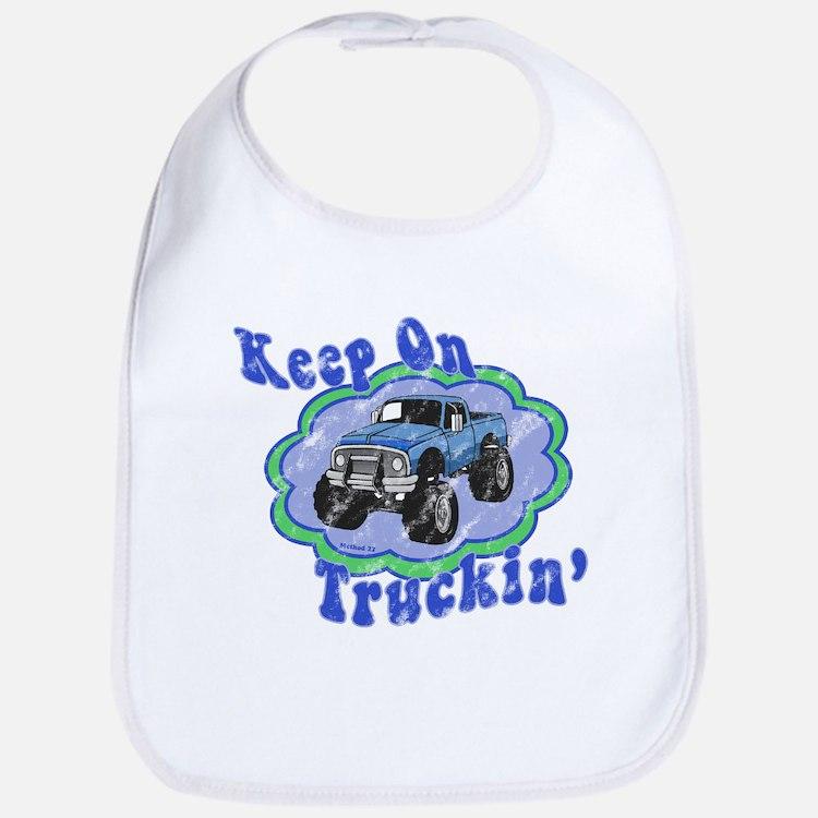 Keep on Truckin' Bib