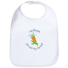 I Am The Pea You Are My Carrot! Bib