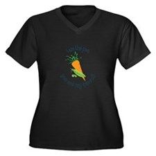 I Am The Pea You Are My Carrot! Plus Size T-Shirt