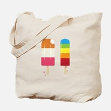 Frozen Popsicle Tote Bag