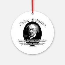 John Adams 02 Ornament (Round)