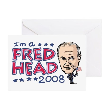 I'm a Fred Head Greeting Cards (Pk of 10)