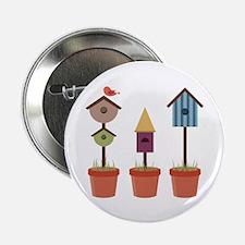 """Bird House Garden 2.25"""" Button (100 pack)"""