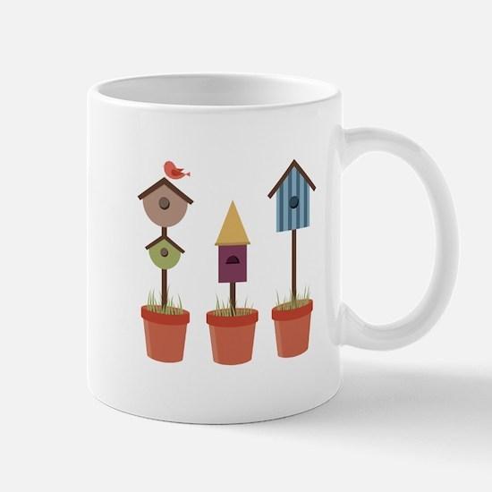 Bird House Garden Mugs