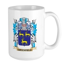 Greenfield Coat of Arms - Family Crest Mugs