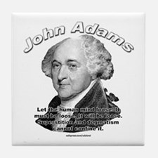 John Adams 03 Tile Coaster