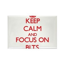 Keep Calm and focus on Blts Magnets