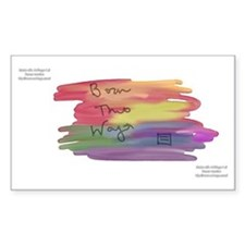 Born This Way Watercolor Decal
