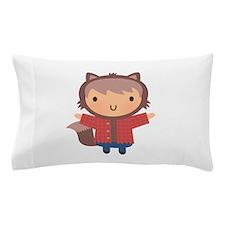 Cute Little Werewolf Boy For Halloween Pillow Case