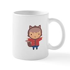 Cute Little Werewolf Boy For Halloween Mugs