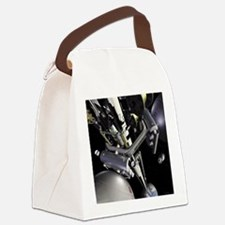 space elevator Canvas Lunch Bag