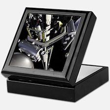 space elevator Keepsake Box