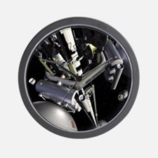 space elevator Wall Clock