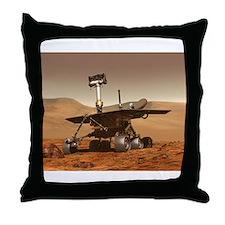 mars rover Throw Pillow