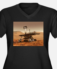 mars rover Plus Size T-Shirt