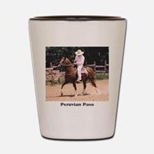 Peruvian Paso Shot Glass