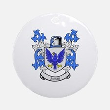 ROUS Coat of Arms Ornament (Round)