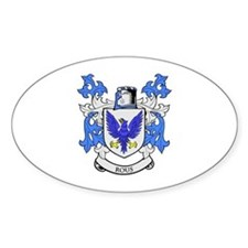 ROUS Coat of Arms Oval Decal