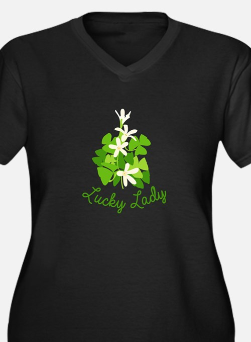 Lucky Lady Plus Size T-Shirt