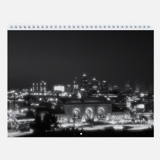 Kansas City in Black and White
