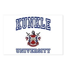 KUNKLE University Postcards (Package of 8)