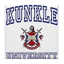 KUNKLE University Tile Coaster