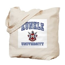 KUNKLE University Tote Bag