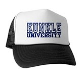 Kunkle university Trucker Hats