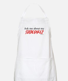 Ask Me About My Studebaker BBQ Apron