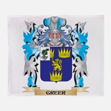 Unique Family crests coat of arms Throw Blanket