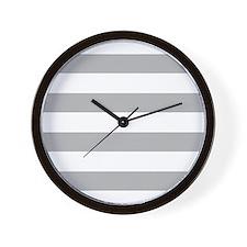 Cute Striped Wall Clock