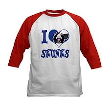 I Love (Heart) Skunks Tee