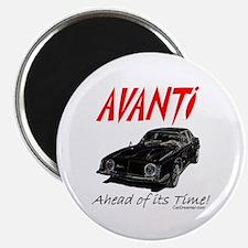 Avanti-Ahead of its Time- Magnet