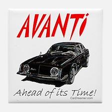 Avanti-Ahead of its Time- Tile Coaster